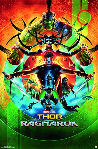 Trends International Thor: Ragnarok-One Sheet Wall Poster, 2