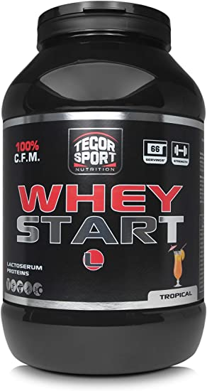 Tegor Sport Whey Start Tropical - 2000 gr: Amazon.es: Salud y ...