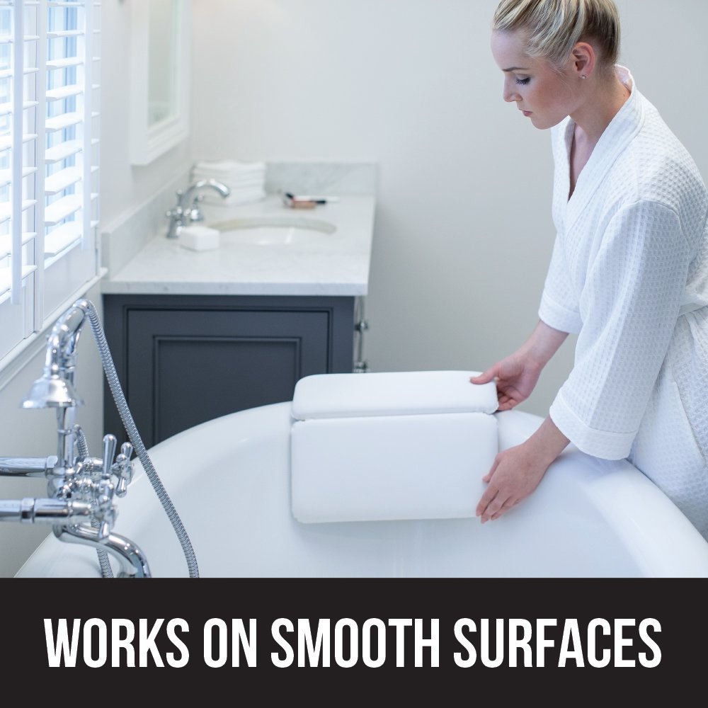 Non Slip Spa Bathtub Pillow For Shoulder & Neck Support
