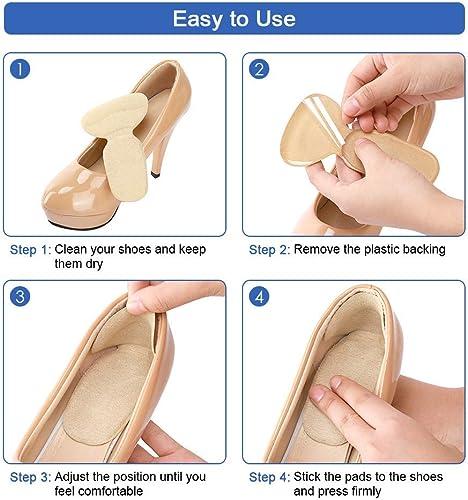 Use heel cushion and heel grip