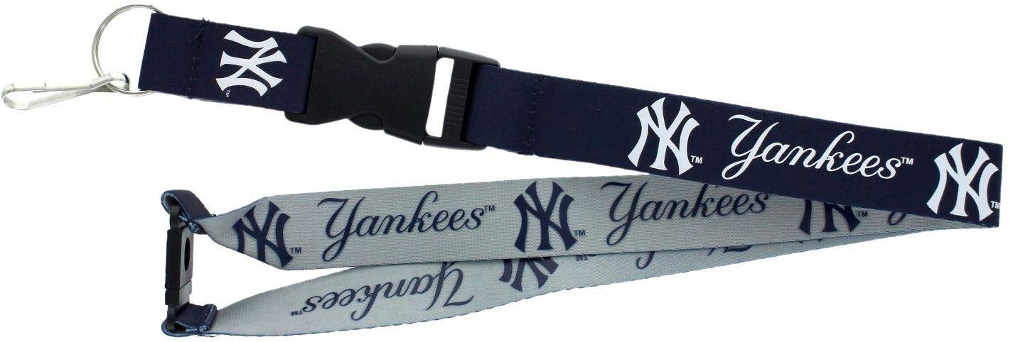 New York Yankees Reversible Keychain Lanyard