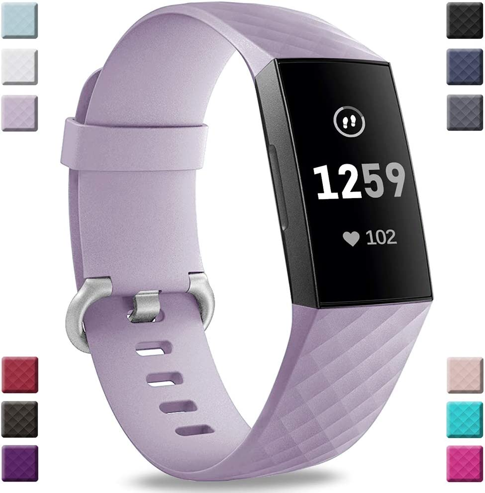 Malla Para Reloj Fitbit Charge 3 Y Charge 3 Se Lila
