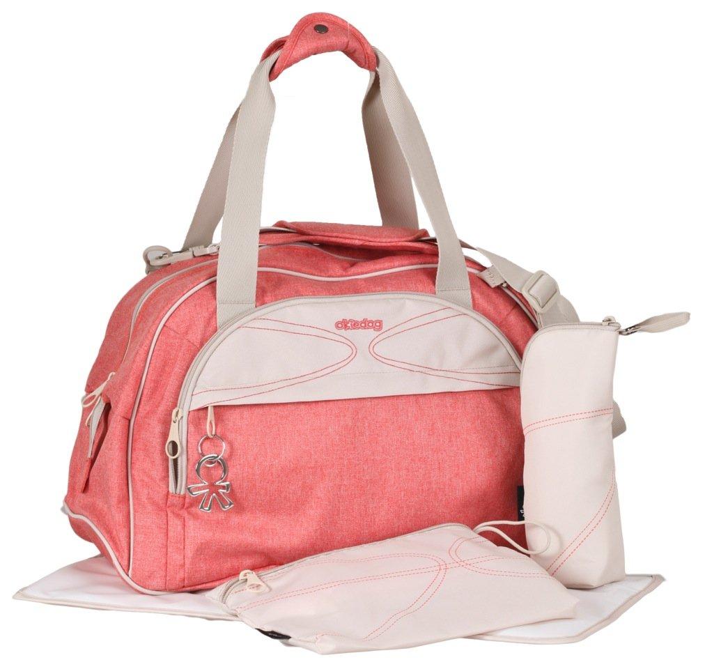 Okiedog Urban Shuttle Diaper Bag (Coral)