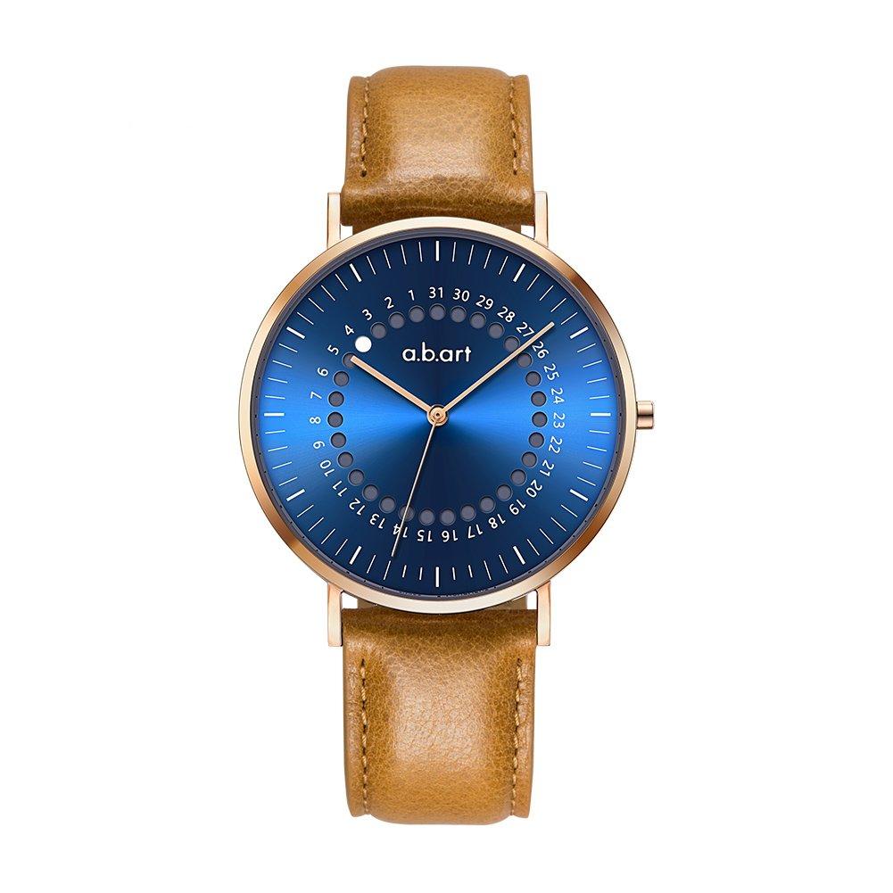 a.b.art FD36-012-3BL Women Watch on Sale Clearance Blue Dial Quartz Movement Analog Watch (Sunny Blue)