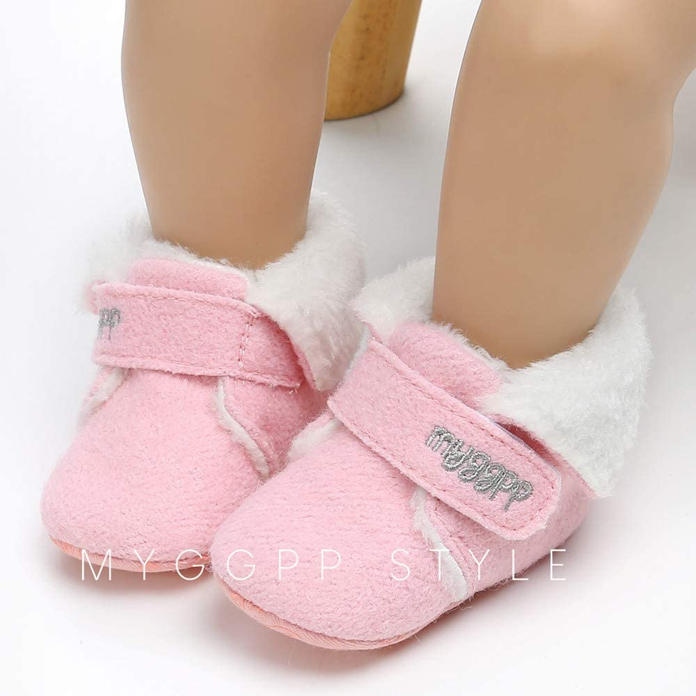 Infant//Toddler Lurryly❤Kids Baby Cotton Premium Soft Sole Prewalker First Walkers Shoes