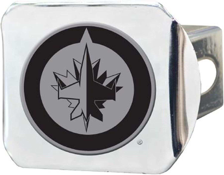FANMATS Winnipeg Jets Heavy Duty Aluminum Color Emblem
