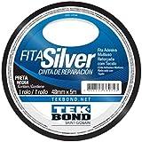 Fita Silver Tekbond preta 48mmx5m