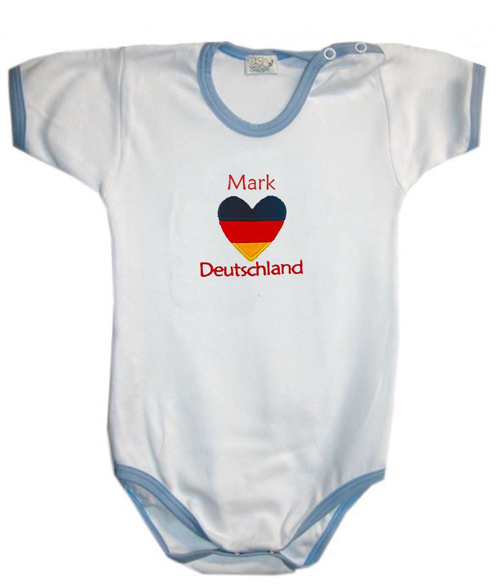 Zigozago - Baby body personalised romper GERMANY