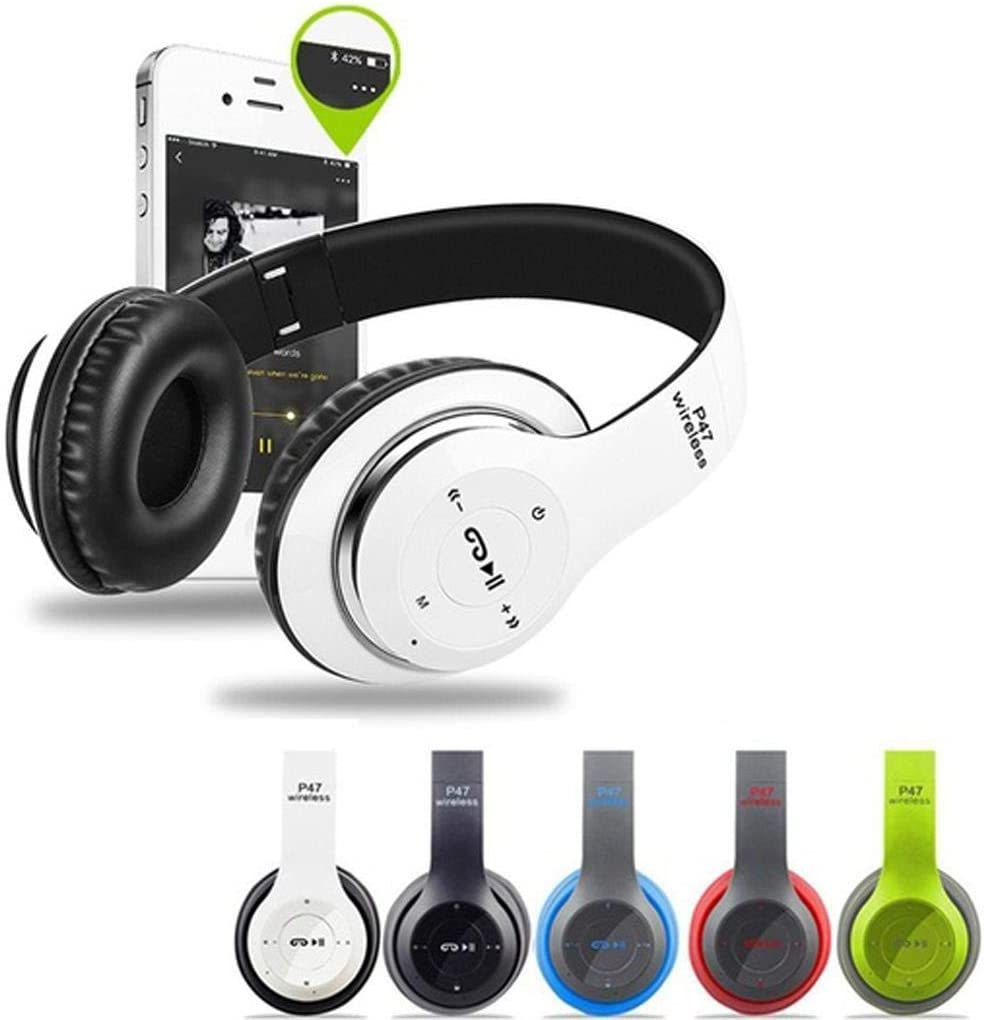 Sholdnut Wireless Bluetooth 4.2 On-Ear Headphones Lightweight Portable Bluetooth and Noise Isolation for Smartphones/PC/Tablet Office