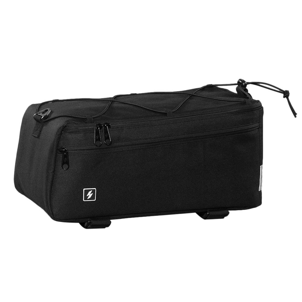 Lixada bicycle cooler baggage carrier for Warm or Cold Items Bicycle Seat Multifunctional Insulated Storage Cooler Bag Shoulder Bag