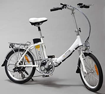 Tucano Basic Renan - Bicicleta eléctrica deportiva (Motor 250W - 36V) - Color blanco