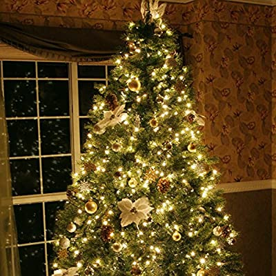 Eufy Starlit String Light, Indoor and Outdoor White LED String Lights, IP65 Water-Resistant, Decoration for Christmas Tree, Bedroom, Patio, Holiday, Wedding, and Party (33 ft Copper Wire)