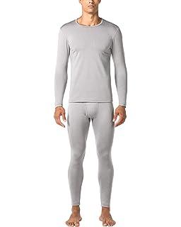 LAPASA Ropa Térmica Pantalón Camiseta Conjunto Mid-Weight para Hombre M57 182507b6ef8