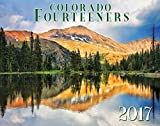 Colorado Fourteeners 2017 Deluxe Wall Calendar
