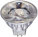 Bulbrite SM16-07-10D-830-03 SORAA 7.5W LED MR16 3000K Brilliant 10° Dimmable Light Bulb, Silver