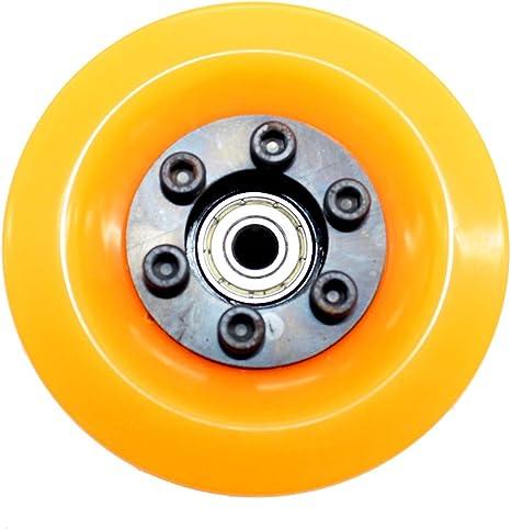 Pack of 1 vanpro DIY Electric Skateboard Cruising Wheels PU 80MM Pulleys Kit Set 5M 36//18 Tooth Belt 15MM