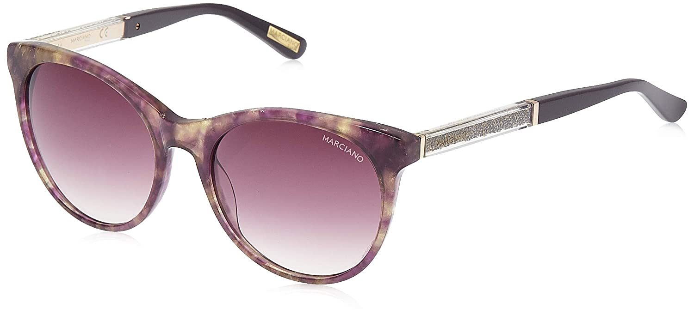 Guess by Marciano Sonnenbrille Gm0770 83Z 55 Gafas de Sol Morado Violeta 55.0 para Mujer