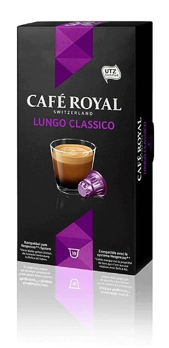 13 opinioni per Café Royal Lungo Classico per Nespresso- 10 Capsule