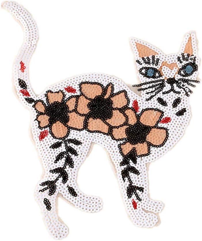 Parches bordados con lentejuelas para coser o planchar para hacer ...