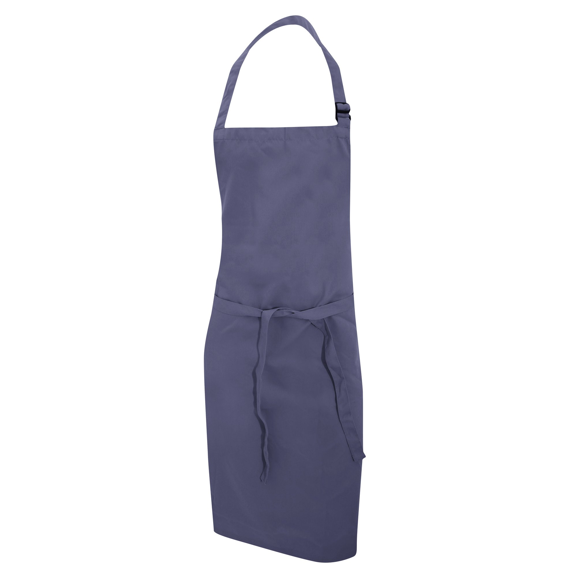 Dennys Multicoloured Bib Apron 28x36ins (One Size) (Storm Grey)