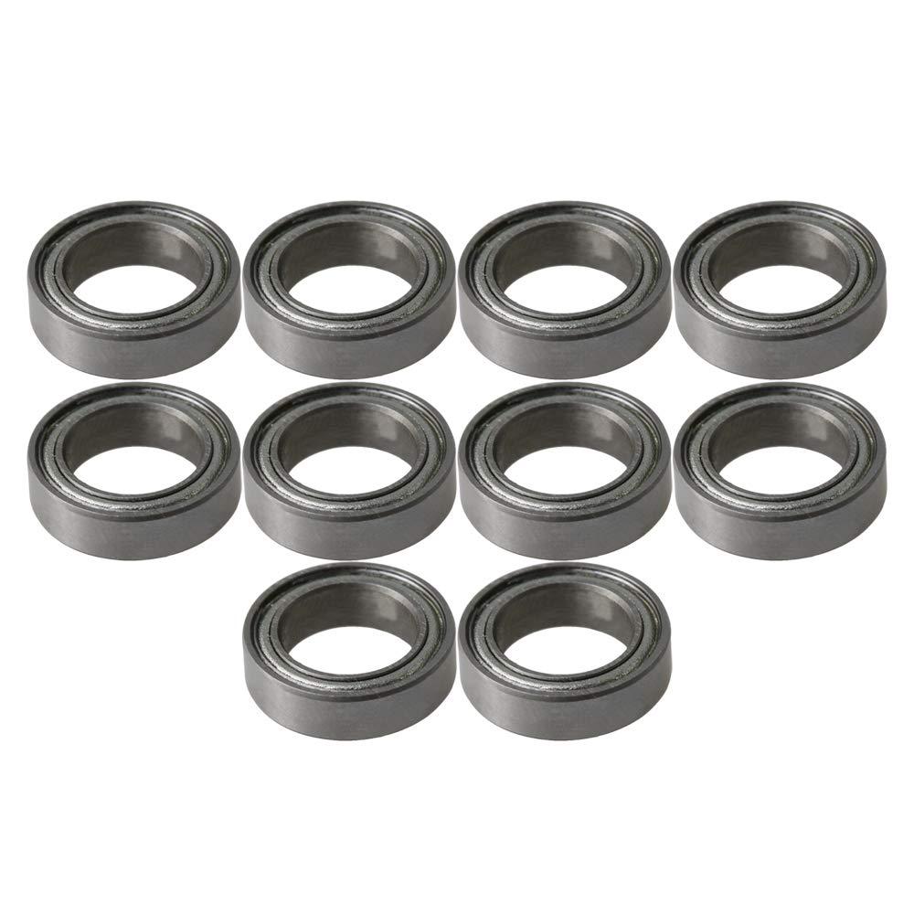 IDxADxDicke 3x8x3 mm // 0,12x0,31x0,12 10 St/ück Lager Stahl Metall Miniatur Mini Rillenkugellager Mikrolager Lager Stahl Miniaturkugellager
