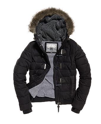 JACKET SUPERDRY G50021LPF1-02A Black  Amazon.co.uk  Clothing 0faf43660fc