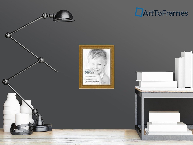 Amazon.com: Marco para fotos de color dorado antiguo con ...