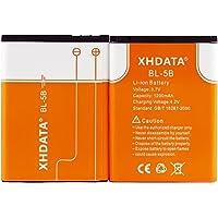 XHDATA BL-5B 3.7V Batería Recargable Akku 1200Mah 2 Piezas