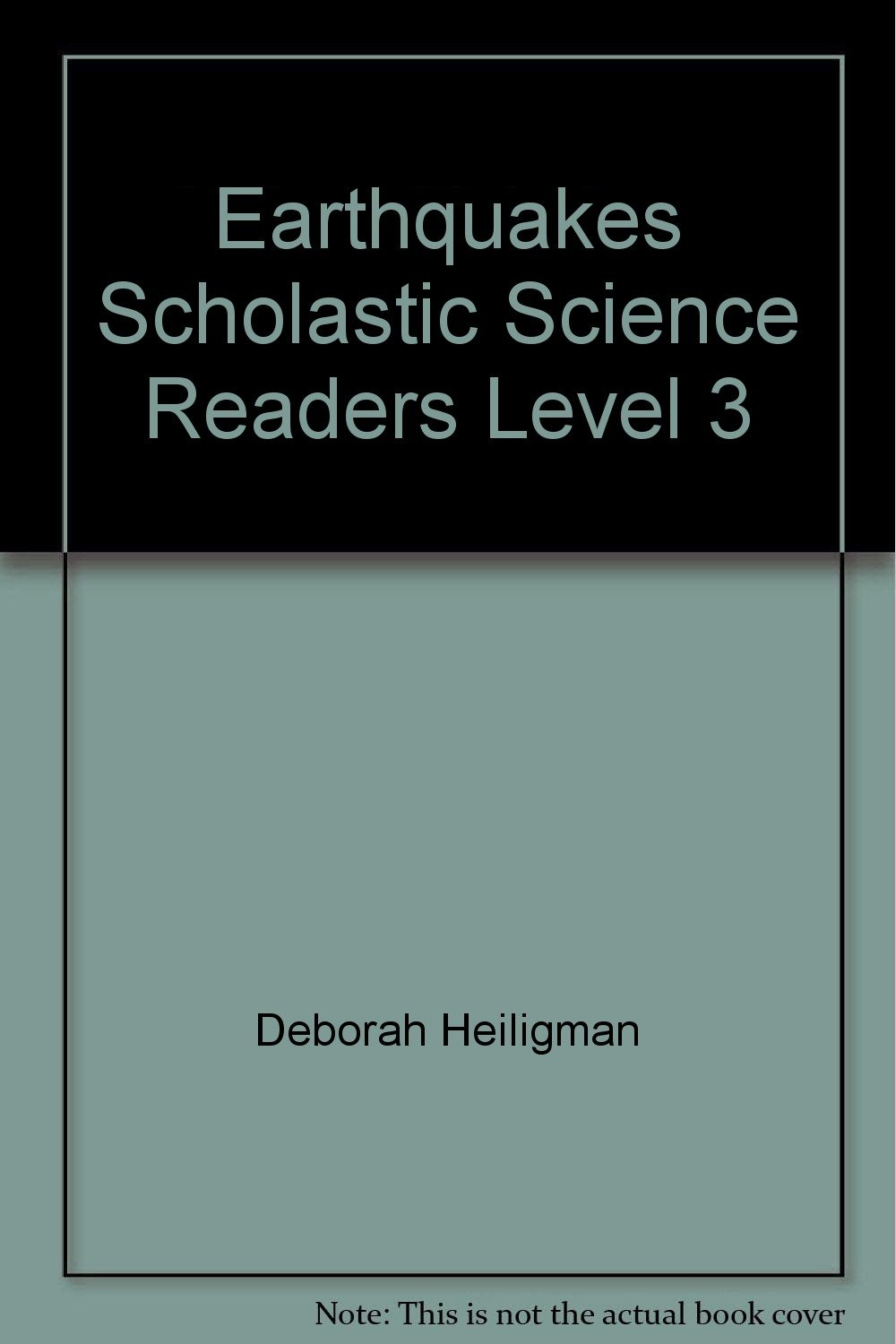 Earthquakes Scholastic Science Readers Level 3 ebook