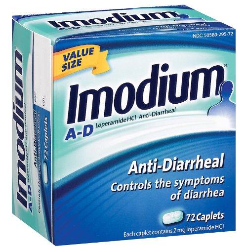 Imodium AD Anti-diarrhéique par le lopéramide HCI 72 comprimés (360 ml)