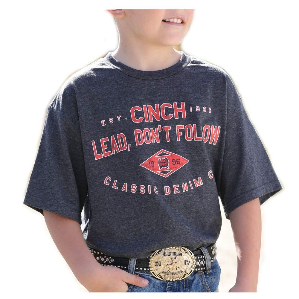 Cinch Boys Lead Dont Follow Graphic Tshirt