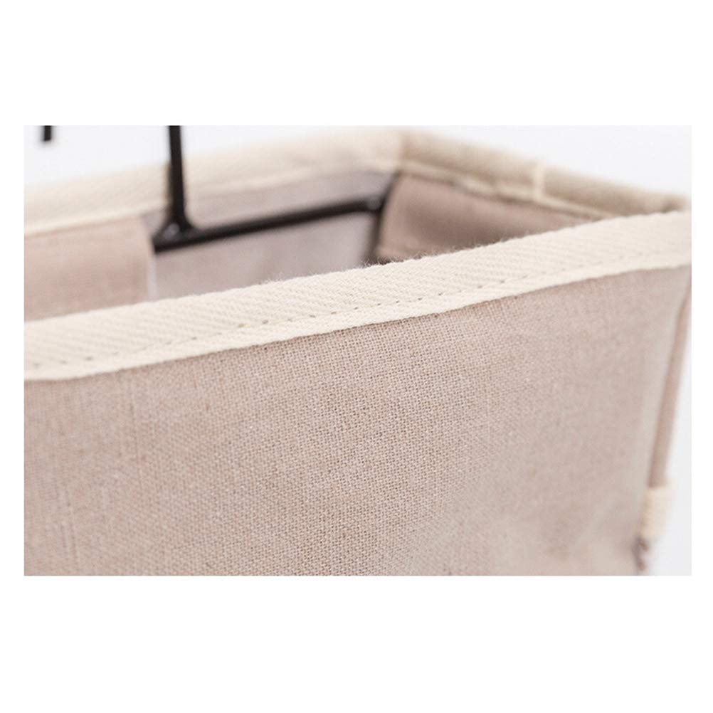 grigio OUNONA 1pz Felt Fabric Bedside Storage Bag Holder Contenitore appeso Organizer per Dorm Bed Car Rails