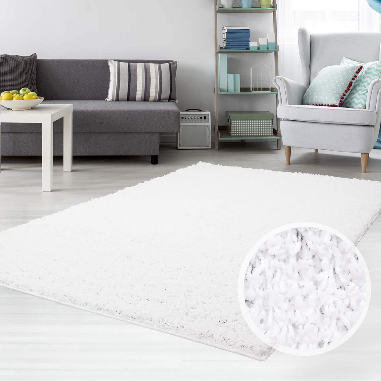 Carpet city city city Teppich Shaggy Hochflor Langflor Flokati Einfarbig Uni aus Polypropylen in Dunkelgrau für Wohn-Schlafzimmer, Größe  300x400 cm B01HF6VPO6 Teppiche b10406