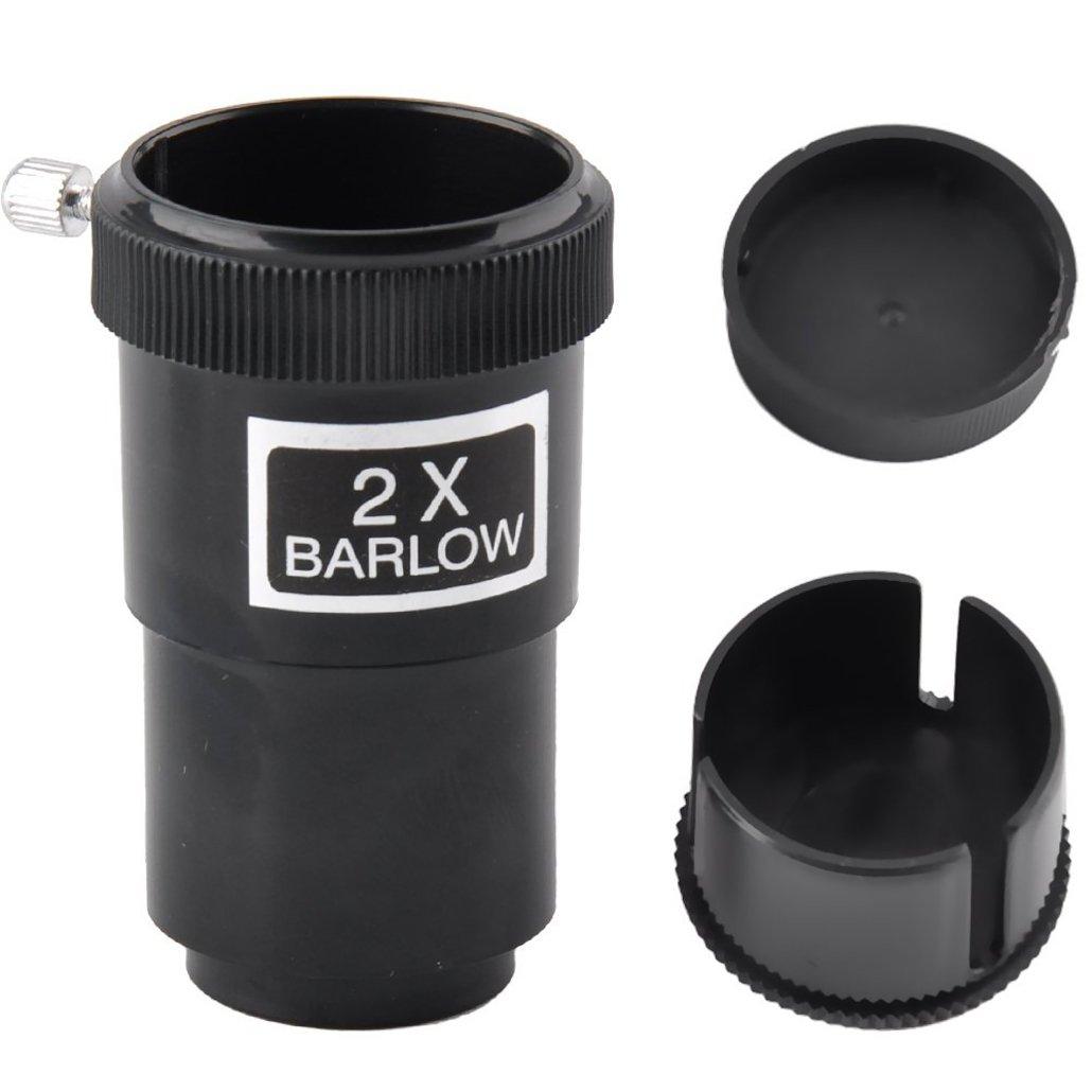 2/x lente de Barlow para telescopios newtonianos ocular//lentes gosky 1 25/