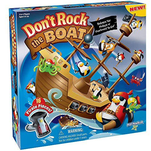 Don't Rock The Boat Skill & Action Balancing - Game Boat Balancing