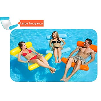 Boofab Water Lounger Hammock Pool Float Inflatable Rafts Swimming ...