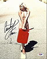 Courtney Force Sexy NHRA Drag Racing Autographed 8x10 Photo - PSA/DNA Authentic from Sports Collectibles