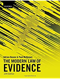 Amazon criminal procedure books the modern law of evidence fandeluxe Images