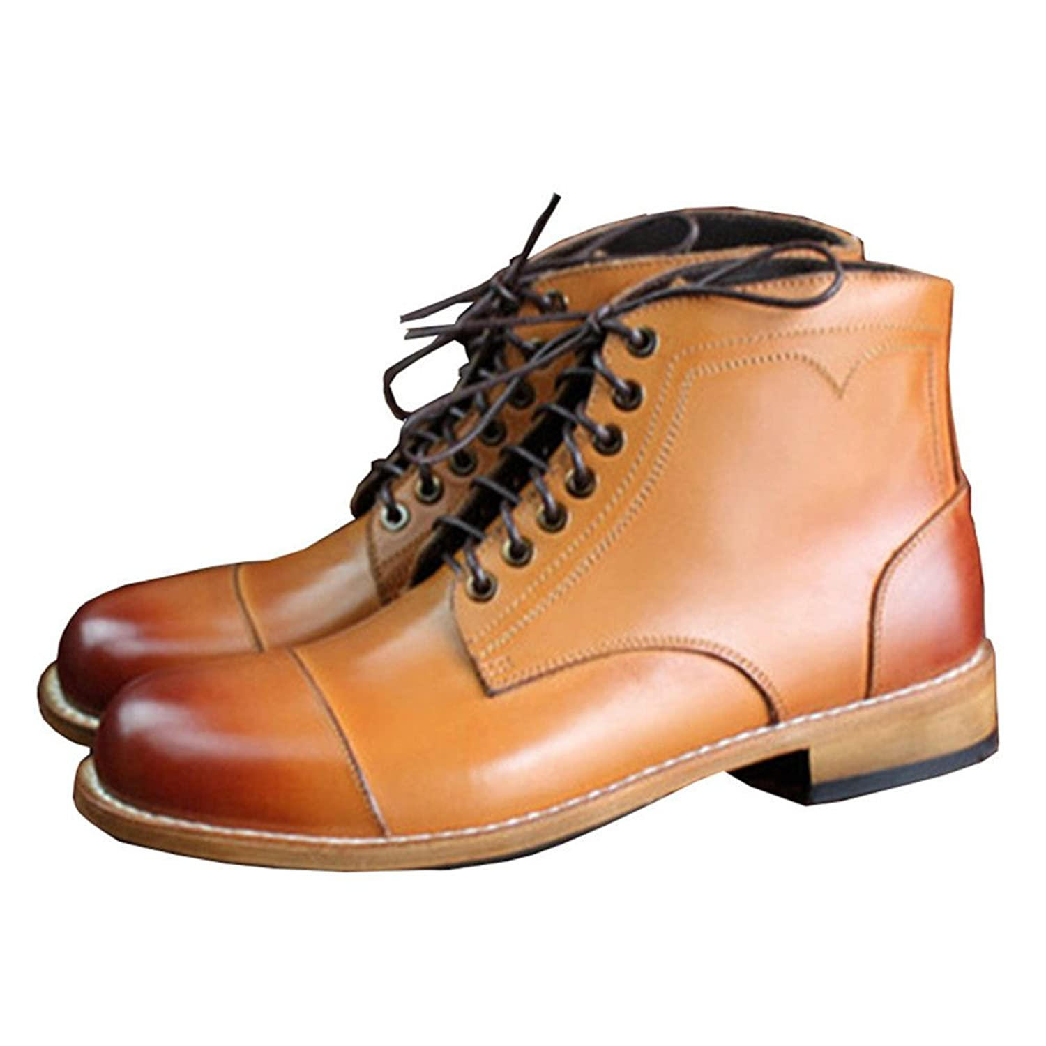 Goodyear Shoes Leather Oxfords Work Boots Waterproof