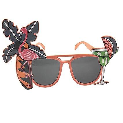 Mattelsen Gracioso Sol Divertido Gafas de Flamingo Palmera ...