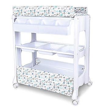 Amazon.com: Mueble cambiador de mesa para bebé, ideal para ...