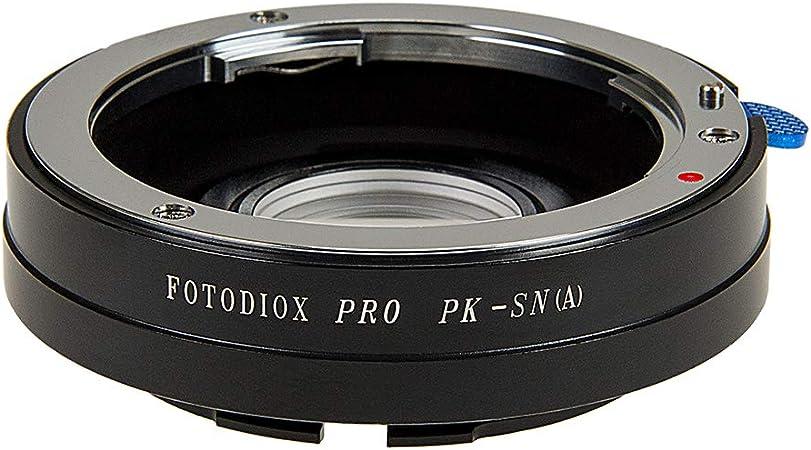 Fotodiox Anillo Adaptador para Pentax K (PK) Lente para Sony Alpha ...