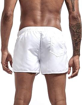 PARVAL Hombres Tallas Grandes Pantalones Cortos cl/ásicos Pantalones Cortos de Playa Troncos Pantalones Cortos de nataci/ón Pantalones Cortos de Pantalones Cortos Deportivos de Secado r/ápido