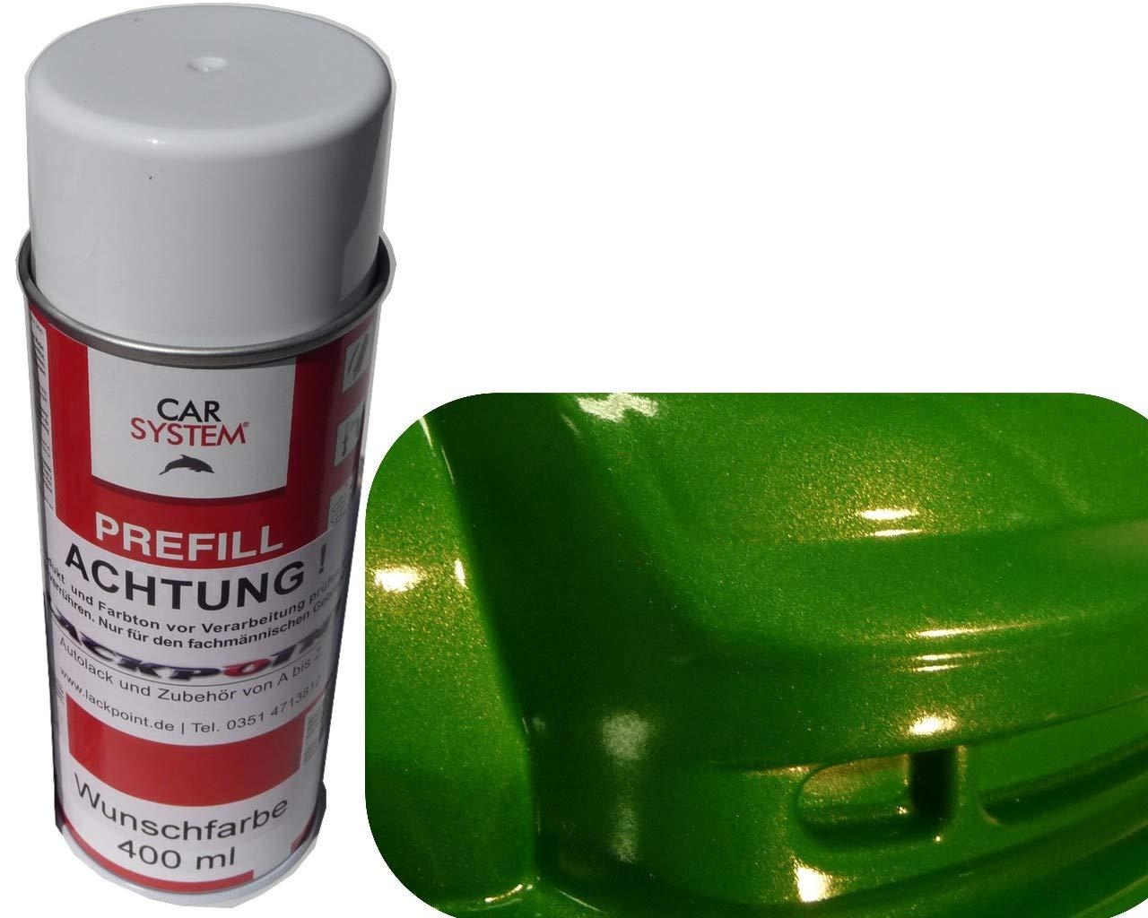 Lackpoint Spray de Peinture pour Voiture 400 ML 1 K Mamba Vert métallisé Brillant