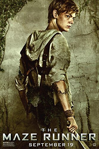 Tomorrow sunny NEW The Maze Runner Silk Movie Poster 24x36 i