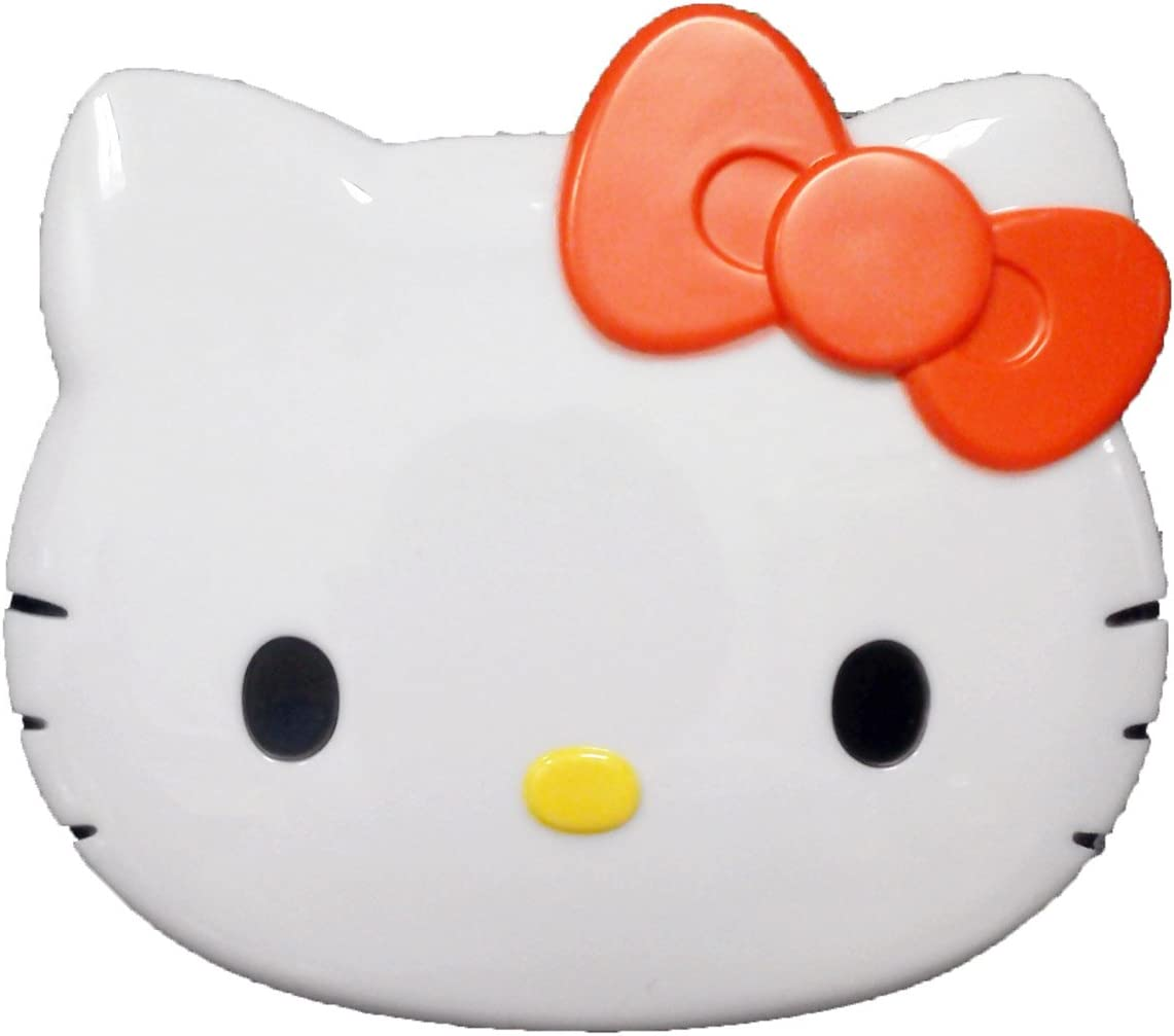 10 X magnifying compact mirror white Hello Kitty by Hello Kitty