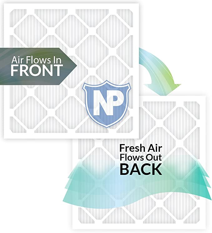 Nordic Pure 10x30x1 MERV 13 Tru Mini Pleat AC Furnace Air Filters 3 Pack