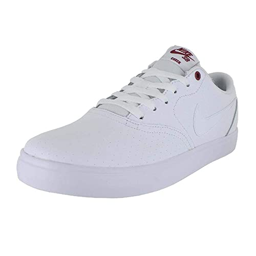 ea4ac1699cf Nike Mens SB Check Solar PRM Shoes White White Cedar Size 7. 5  Buy Online  at Low Prices in India - Amazon.in