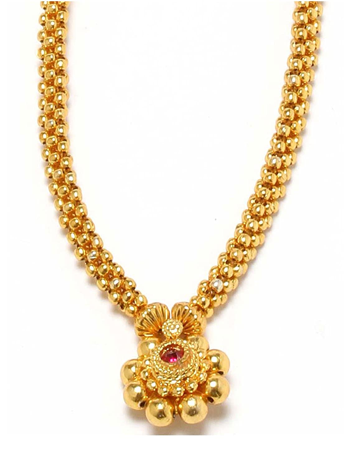 Womens Trendz Gold Plated Chain Necklace For Women: Amazon.in ...