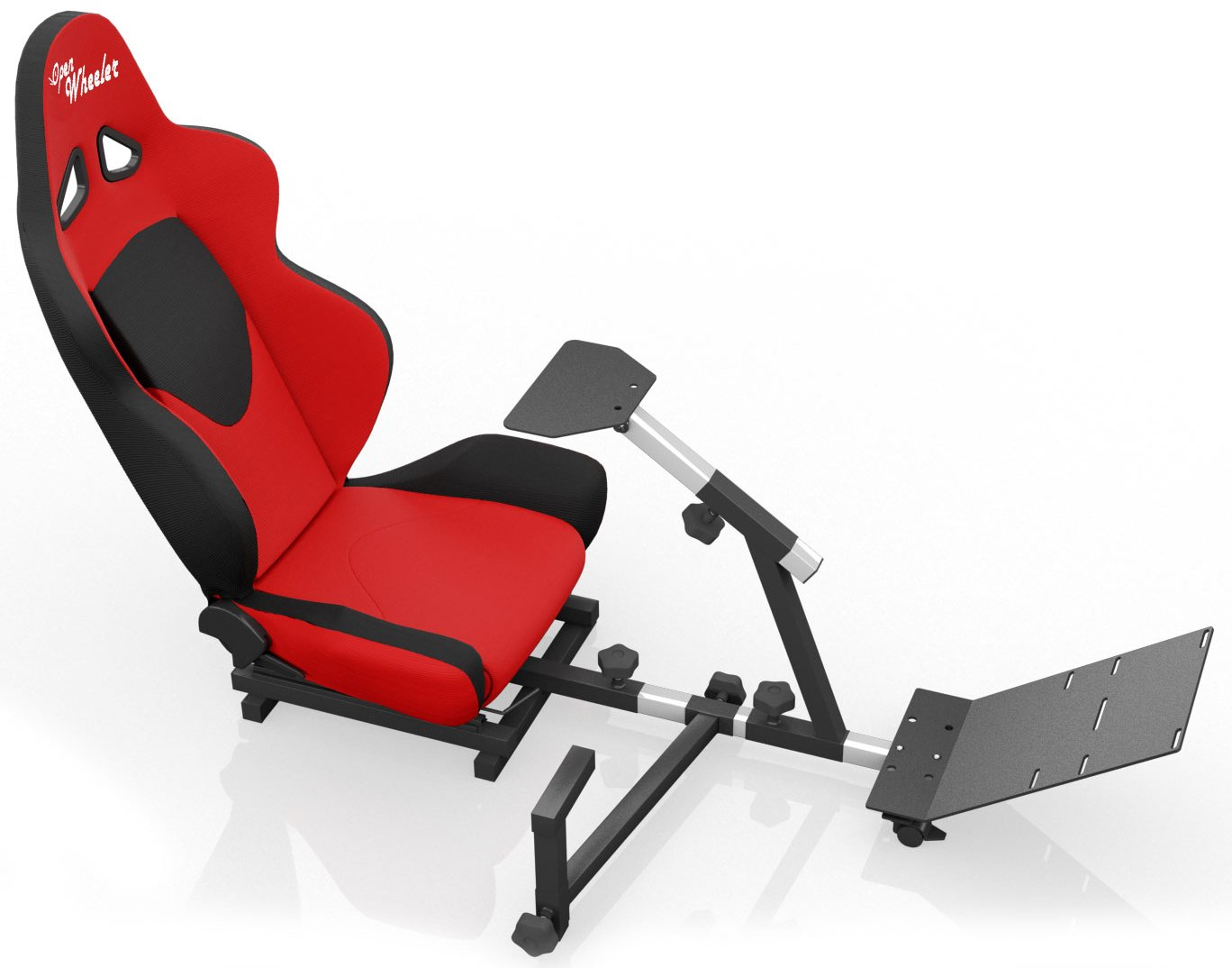 Openwheeler Advanced Racing Simulator Seat Driving Simulator Gaming Chair with Gear Shift Mount by OpenWheeler